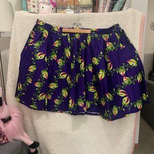 HAND MADE Plus Size Venus Fly Trap Skirt